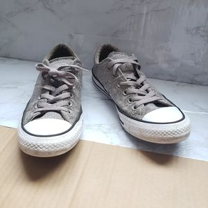 Gray Converse All Star Sneakers Shoes
